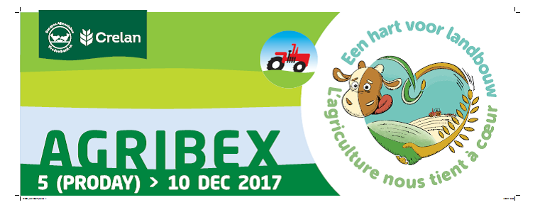 AGRIBEX Roadshow september/november 2017